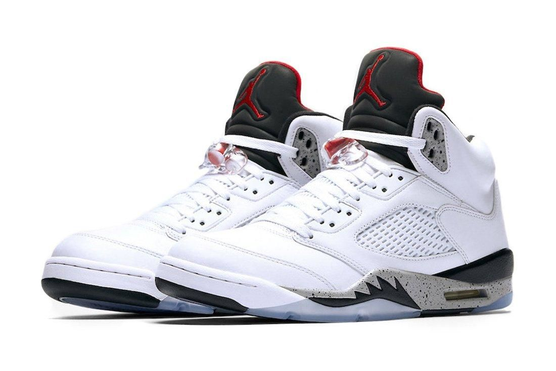 Air Jordan 5 White Cement4