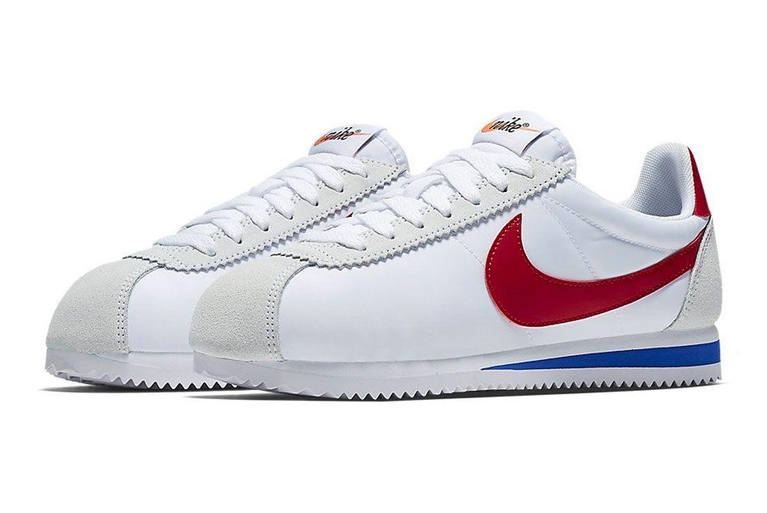 Nike Cortez Red White Left