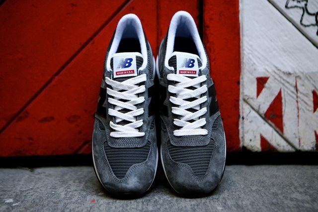 New Balance 990 Made In Usa Charcoal Grey 5