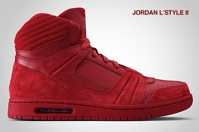 Jordan L Style Ii Red 2
