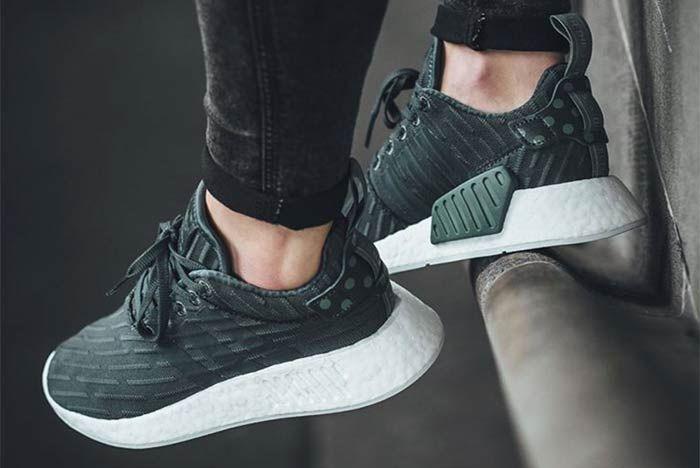 Adidas Nmd R2 Green 1