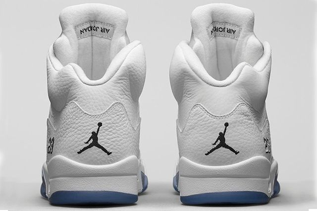 Air Jordan 5 White Metallic 41