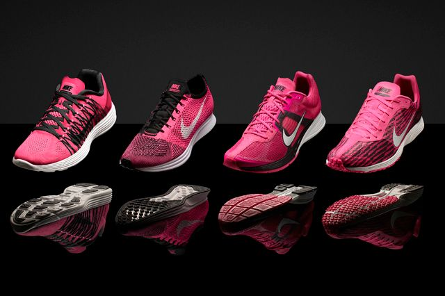 Pink Foil Nike Marathon