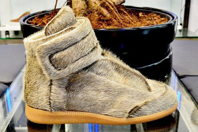 Maison Martin Margiela Pony Hair Kanye West 1