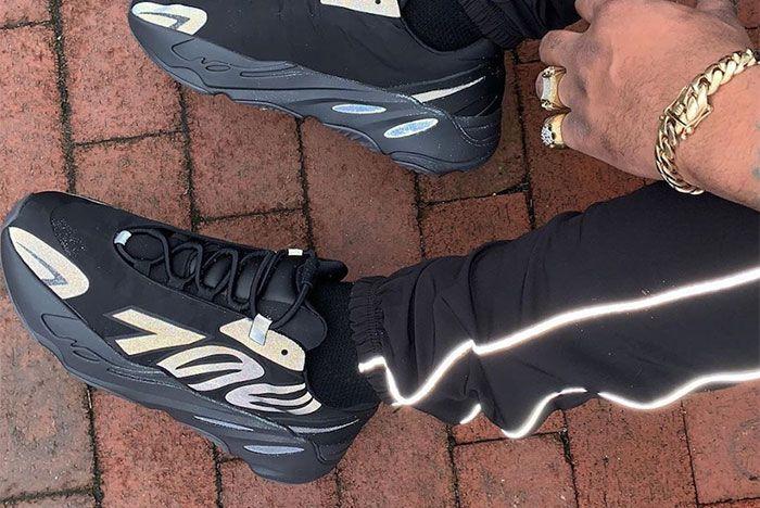 Adidas 700 Mnvn Black Reflective Fv4440 Release Dateleak