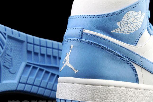 Air Jordan 1 University Blue Heel Logo 1