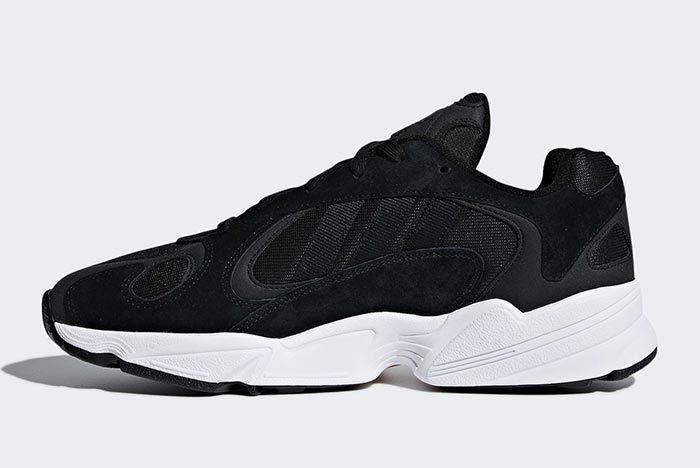 Adidas Yung 1 Black White 2