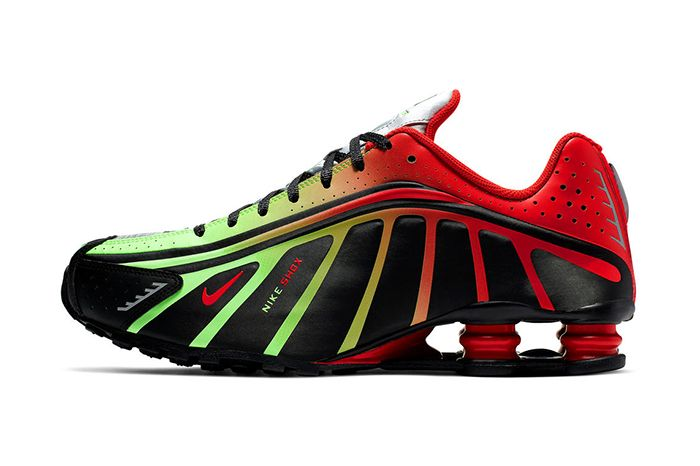 Neymar Nike Shox R4 Collaboration Official Black Red Green Release Date Lateral