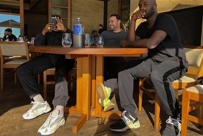 Kanye West Adidas Yeezy Wave Runner 700 Boost White Cream Grey Sneaker Freaker 3