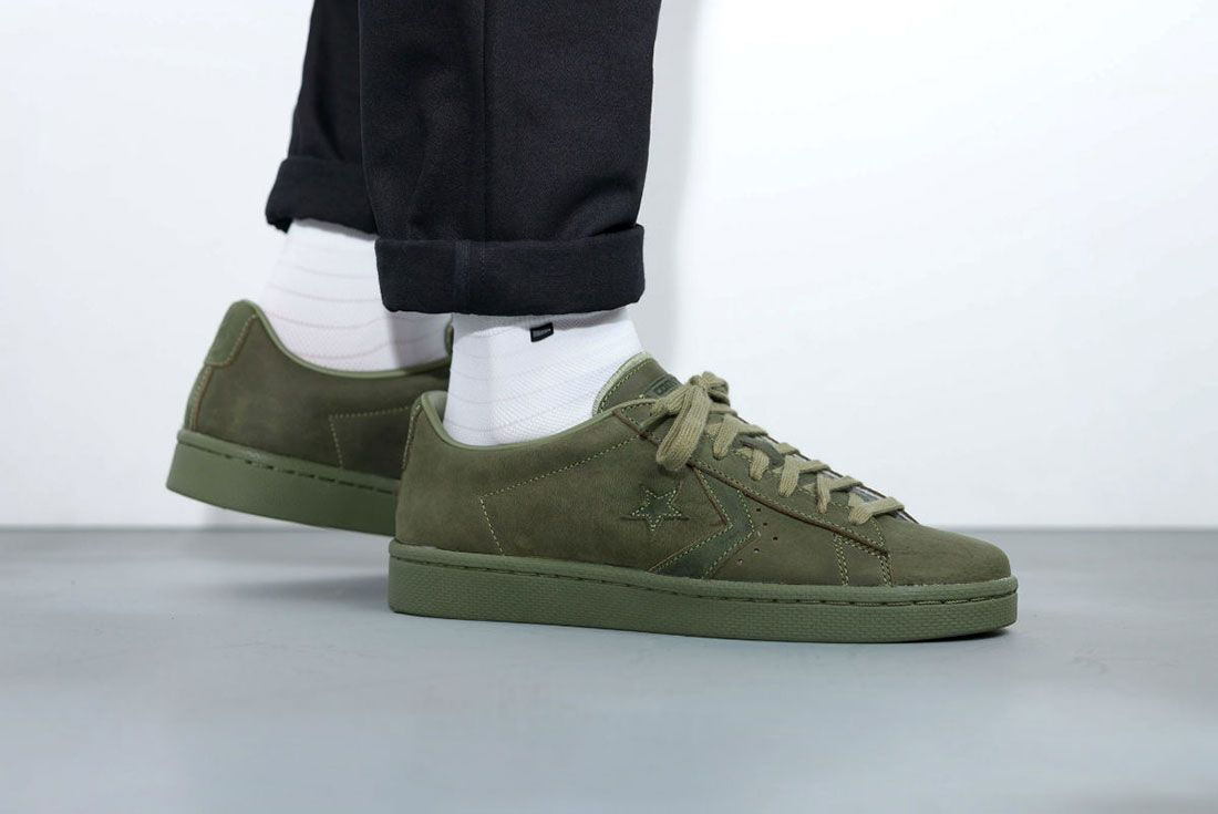 Converse Cons Pro Leather 76 Ox ' Autumn Mono' Pack 8
