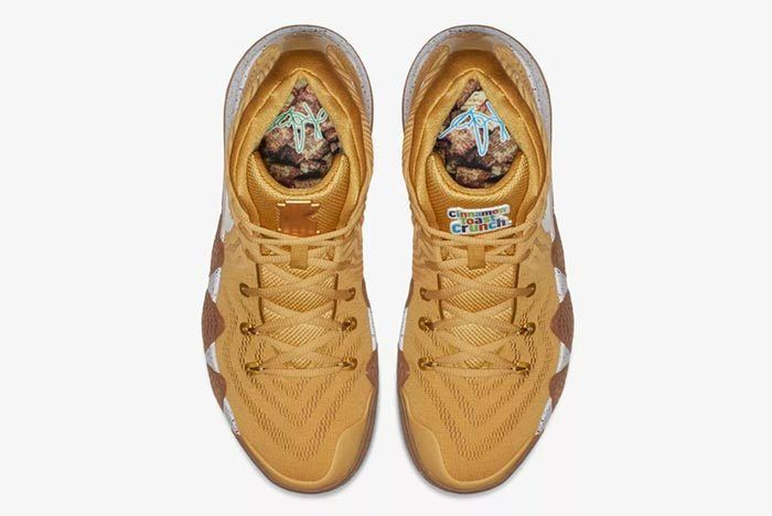 Nike Kyrie 4 Cinnamon Toast Crunch Release Date 1