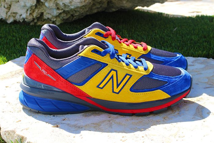 Shoe City Eat New Balance 990V5 Right