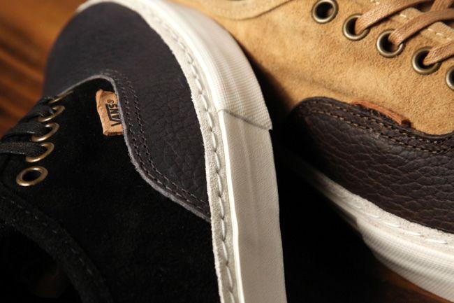 Vans Authentic Lx Suede Leather Pack Details 1