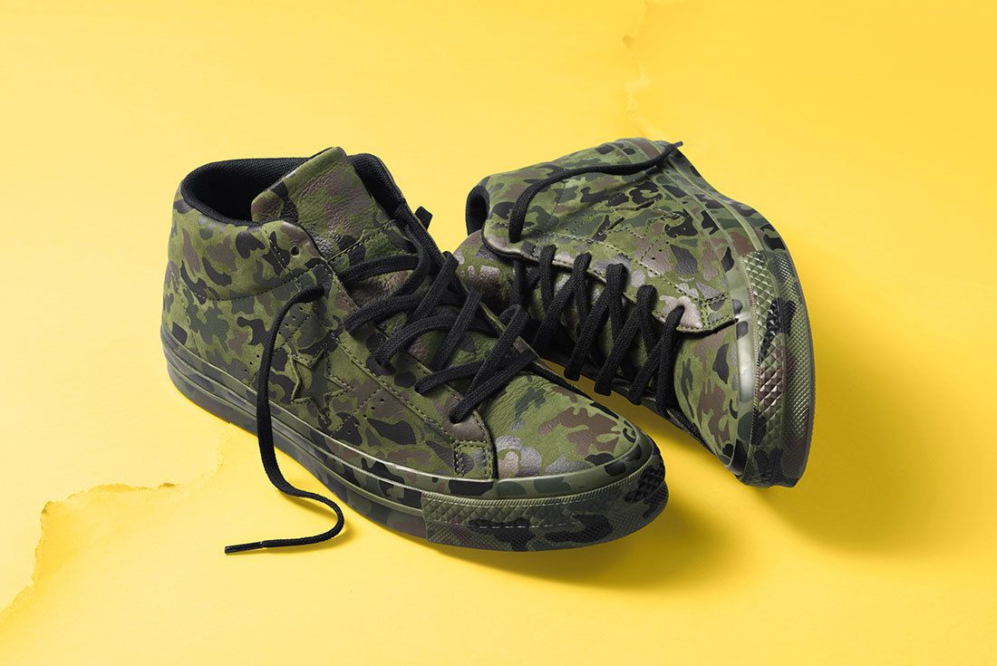 Sp18 Os Mid Camo Multi 159746 C 1 77033 Converse One Star Sneaker Freaker