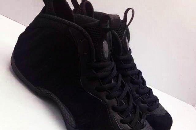Nike Air Foamposite One Black Suede 05