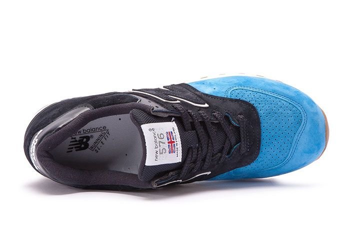 New Balance 576 Made In England Black Blue 4