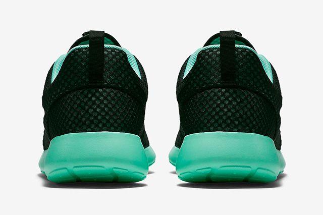 Nike Roshe Run Prm Green Glow3