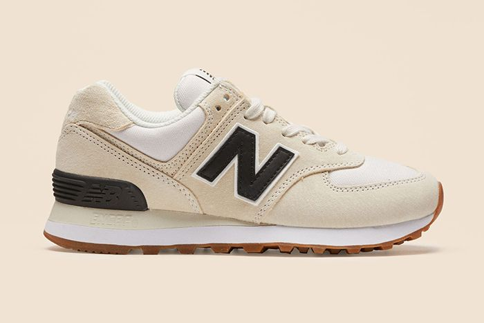Reformation New Balance 574 White Black Release Date Lateral