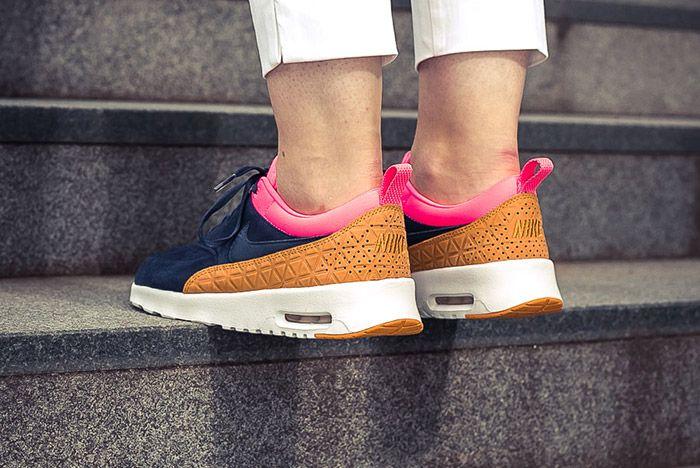 Nike Air Max Thea Wmns Obsidian On Feet 1