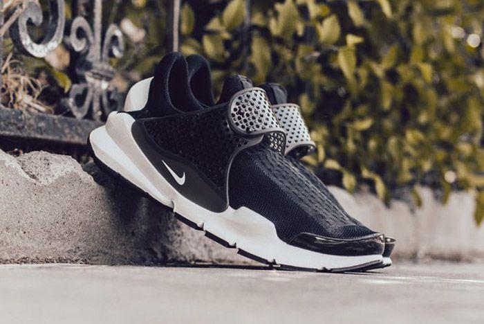 Nike Sock Dart Black White 2