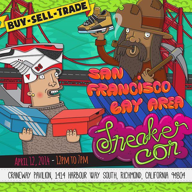 Sneaker Con Bay Area Bound This April
