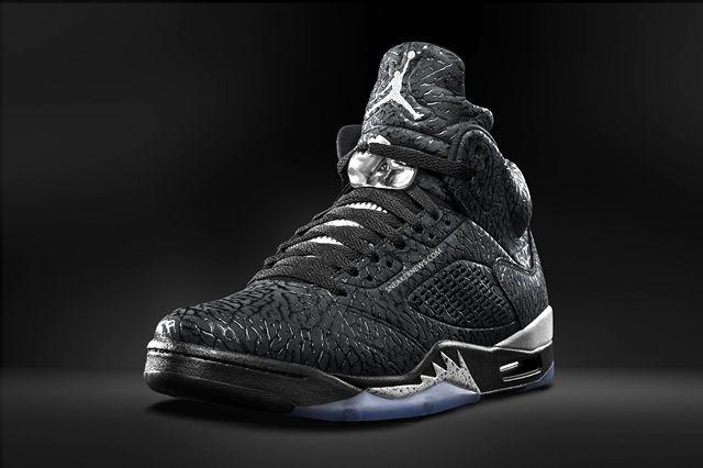 Air Jordan 3Lab5 Black Metallic 5