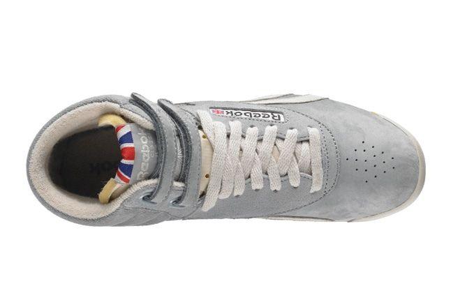 Reebok Freestylehi Vintage Grey Heel Aerial 1