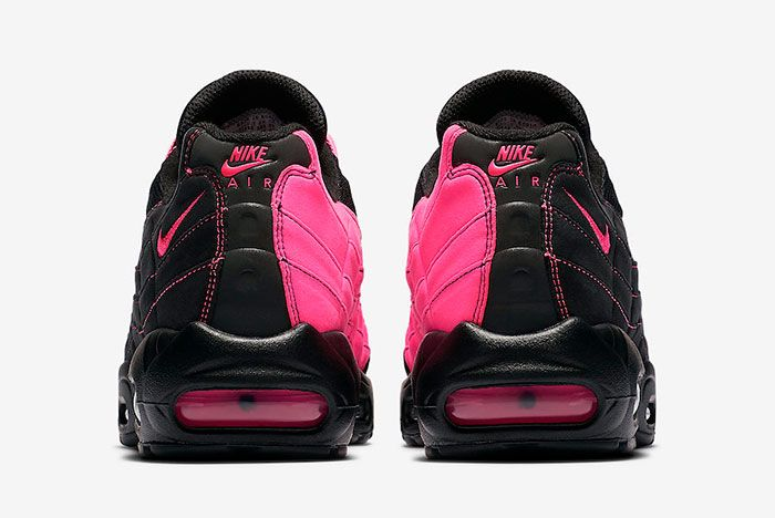 Nike Air Max 95 Black Pink Cu1930 066 Heel