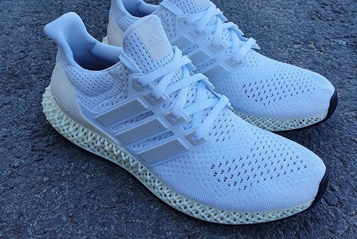 Adidas Ultra 4 D White Release Date 2Leaked Shots