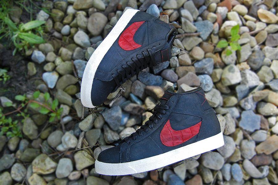Nike Blazer Mid Suede Croc Jbf Customs 7