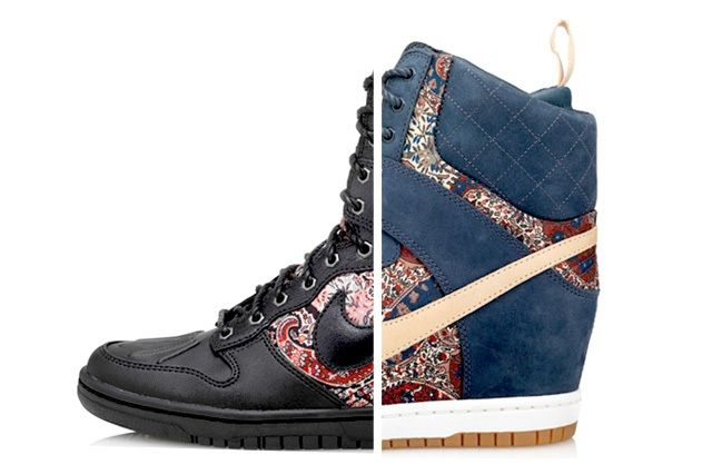 Liberty London Nike Dunk Sky Hi Sneakerboot Bourton Thumb