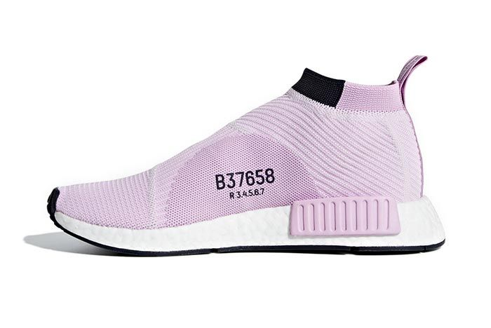 Adidas Originals City Sock Pale Pink 1