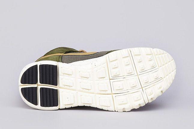 Nike Sb Dunk High Oms Light Green Gold 2
