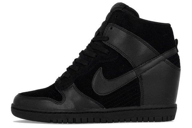 Nike Dunk Sky Hi Black 4