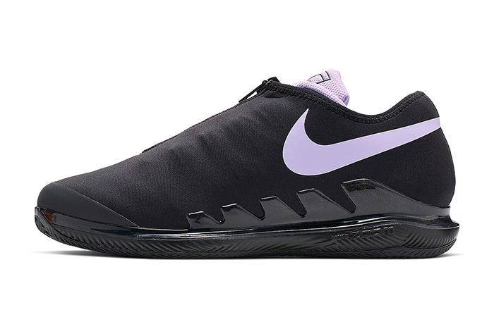 Nike Air Zoom Vapor X Glove Black Purple Bq9663 001 Release Date Lateral