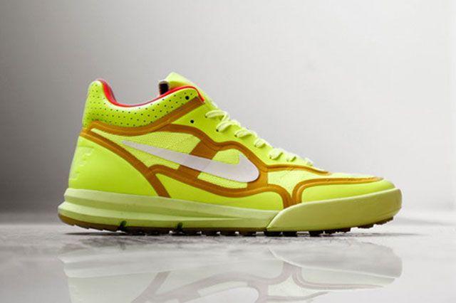 Nike Sportswear Lunar Tiempo Premier Ylw Sideview