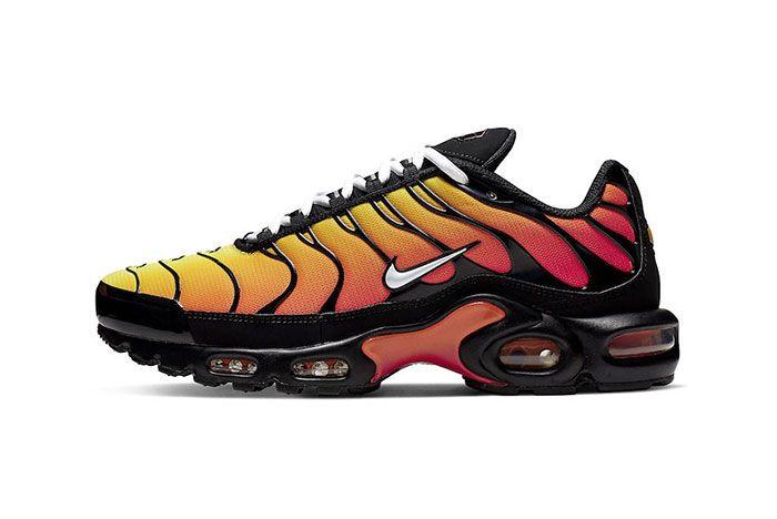 Nike Air Max Plus Orange 852630 040 Lateral