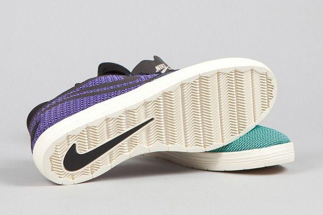 Nike Sb Lunar One Shot Woven Mint Hyper Purple 2