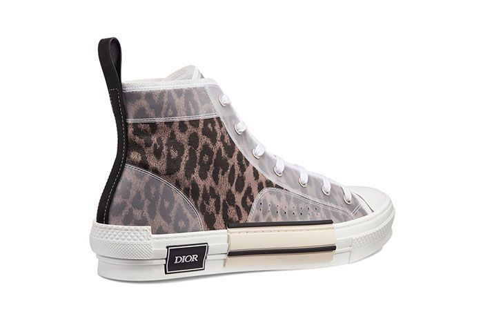 Dior B23 High Top Leopard Print Sneaker 1 Side5