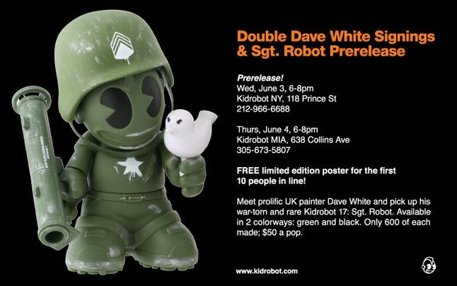 Dave White X Kid Robot 3