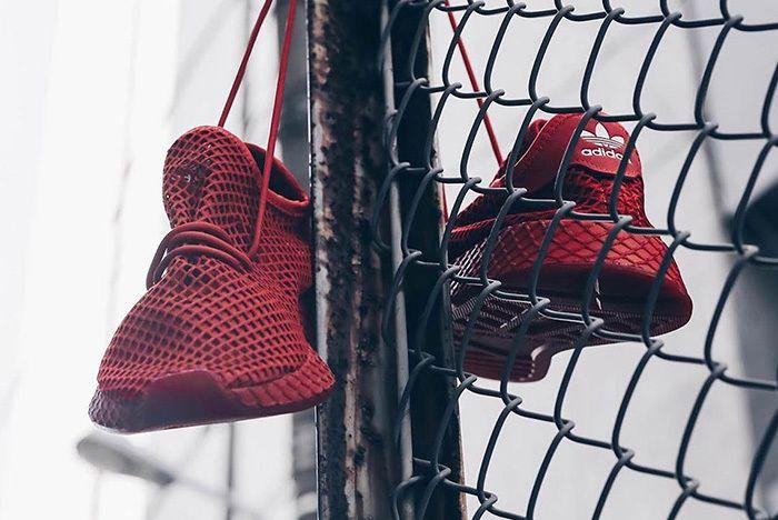 Atmos Adidas Deerupt Red 3