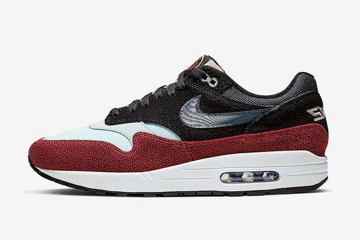 De Aaron Fox Nike Air Max 1 Swipa Cj9746 001 Release Date Side