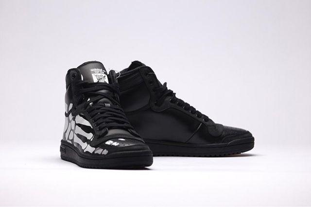 Adidas Top Ten Hi Core Black White3