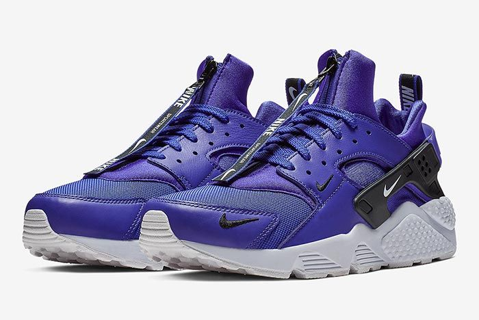 Nike Air Huarache Zip Purple 1