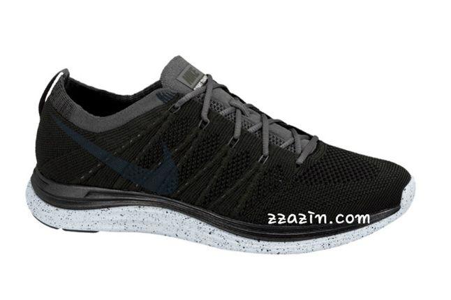Nike Flyknit Lunar1 Black Grey 1