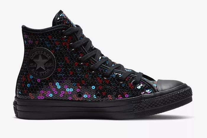 Converse Chuck Taylor All Star Sequin Black 2