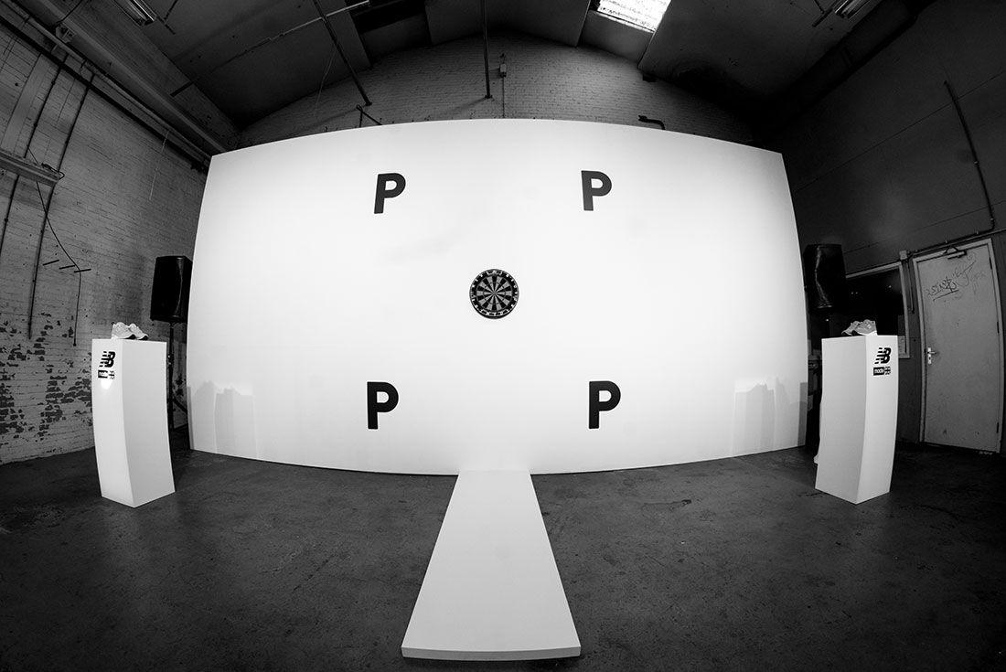 Pop New Balance Dart Wall Release Party