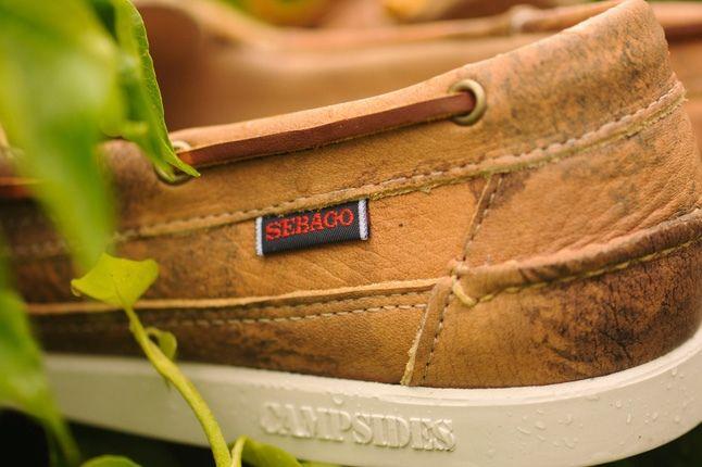 Sebago Boat Tan Leather Heel Detail 1
