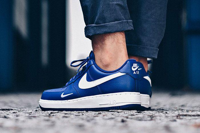 Nike Air Force 1 Mini Swoosh Deep Royal Blue 4