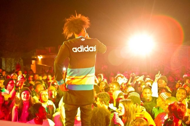 Adidas Unite All Originals Atlanta Danny Brown On Stage Back 1
